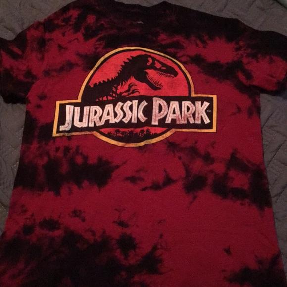 03f5f563 Hot Topic Tops | Jurassic Park Tiedye Tshirt S | Poshmark
